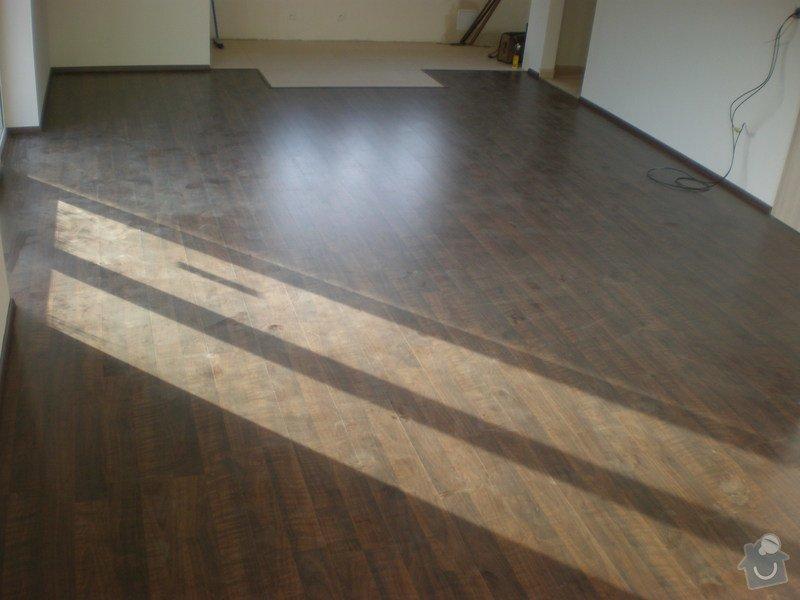 Pokládka plovoucích podlah vč montáže interiérových dveří: Snimek_3716