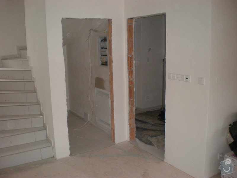 Pokládka plovoucích podlah vč montáže interiérových dveří: Snimek_3822