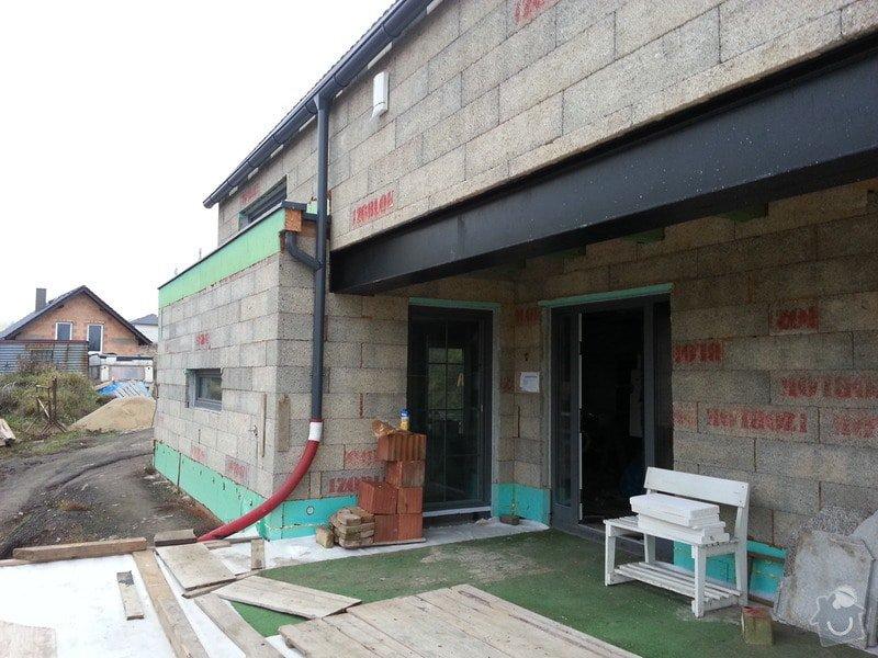 Návrh, vypracování projektové dokumentace, vyřízení stavebního povolení, dodávka materiálu, dozor a technická podpora při stavbě svépomoci.: 20131213_083018