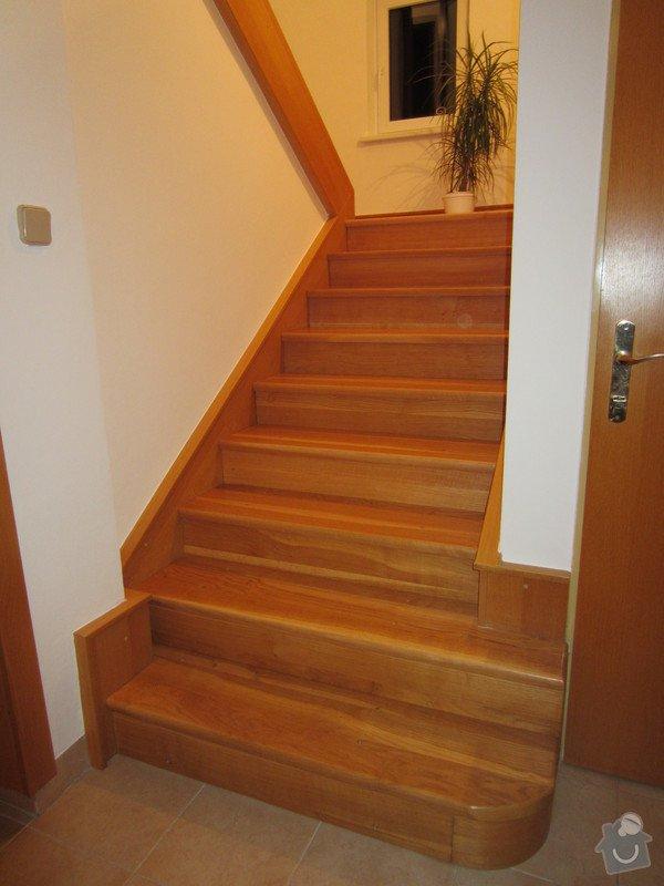 Interiérové zábradlí nerez/dřevo dub: IMG_3681