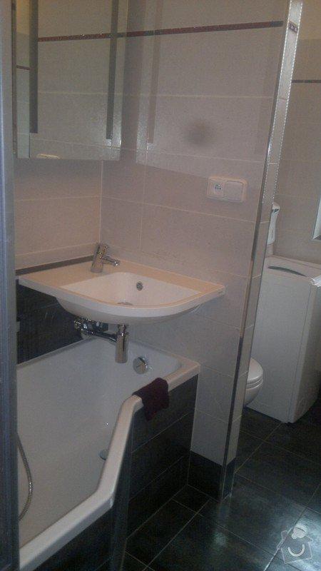 Rekonstrukce trubek topení, kompletní rekonstrukce koupelny v rodinném domku : 2