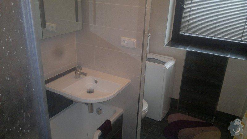 Rekonstrukce trubek topení, kompletní rekonstrukce koupelny v rodinném domku : 3