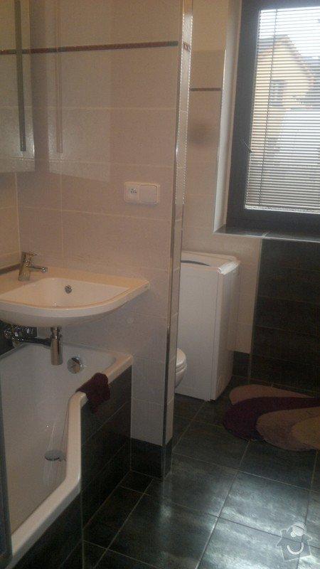 Rekonstrukce trubek topení, kompletní rekonstrukce koupelny v rodinném domku : 4