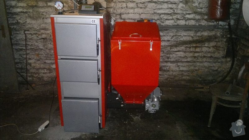 Prodej Automatický kotel Greeneco 25kW a jeho montáž.: IMG_54214063155300