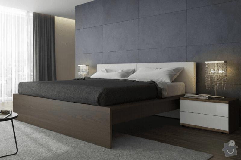 Postel s nočními stolky: postel_1