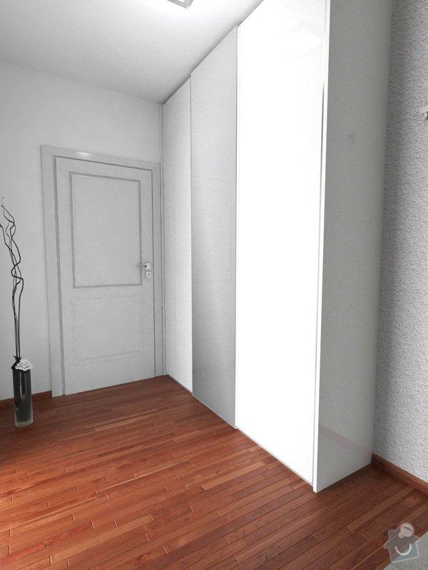 Vestavěný nábytek + Kuchyňská linka: chodba2