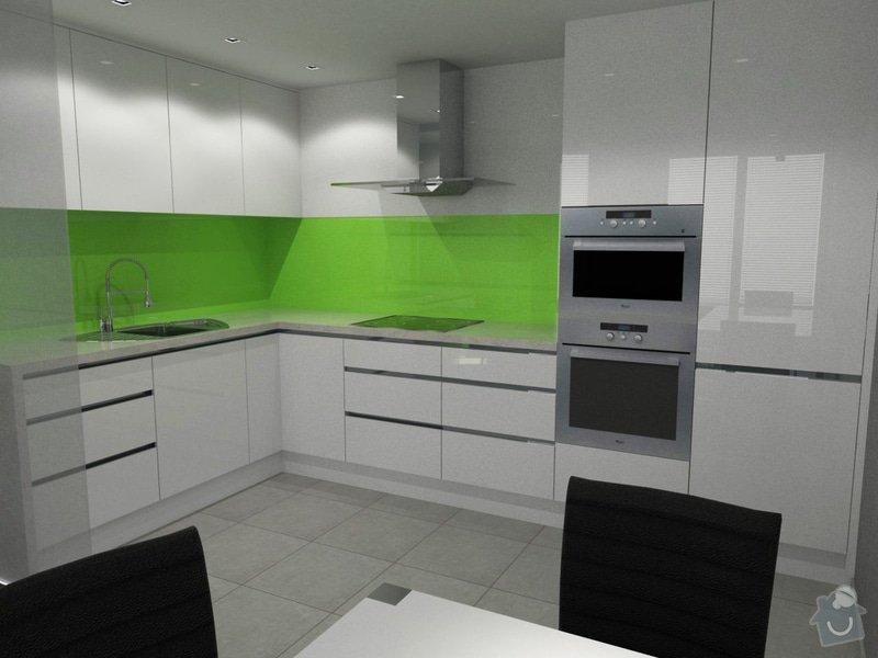 Vestavěný nábytek + Kuchyňská linka: kuchyn3