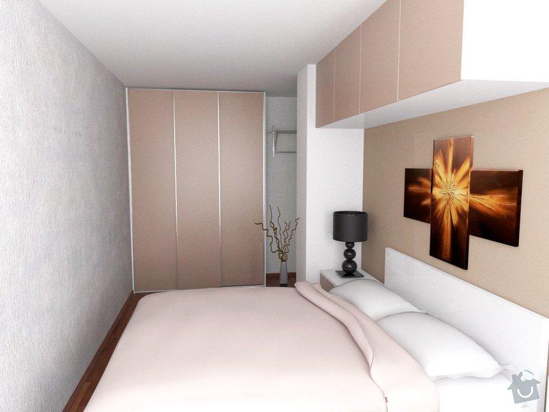 Vestavěný nábytek + Kuchyňská linka: loznice1