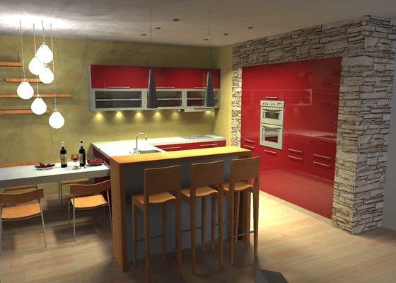 Rekonstrukce kuchyňského koutu
