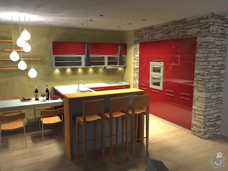 Rekonstrukce kuchyňského koutu: 01