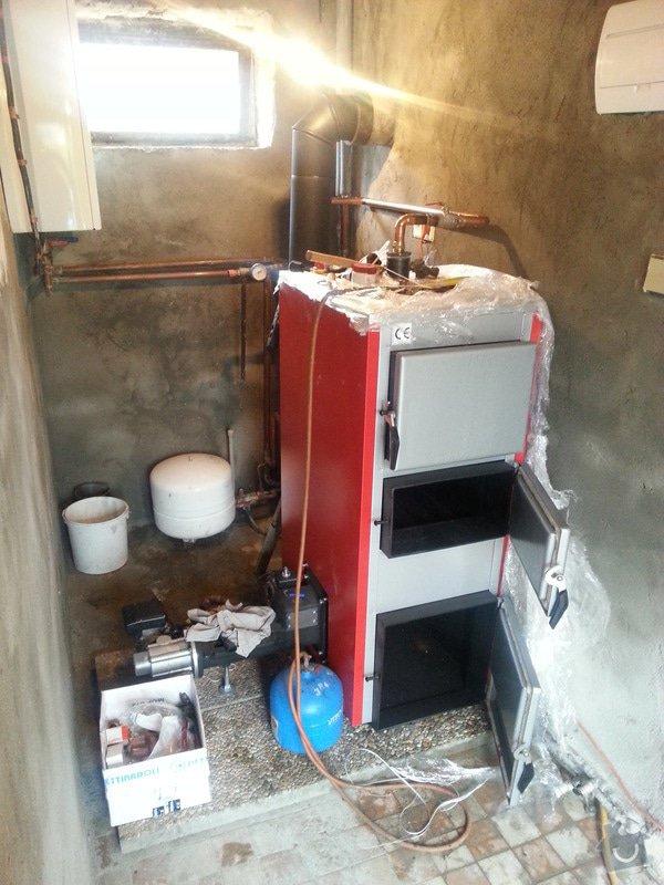 Prodej Automatický kotel Greeneco a jeho instalace.: 20131018_103556