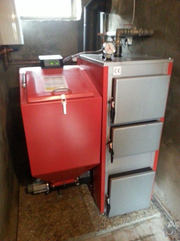 Prodej Automatický kotel Greeneco a jeho instalace.: 20131018_134906