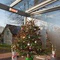 Elegantni terasa glasoase s markyzou a svetelnymi panely led zastreseni terasy 28