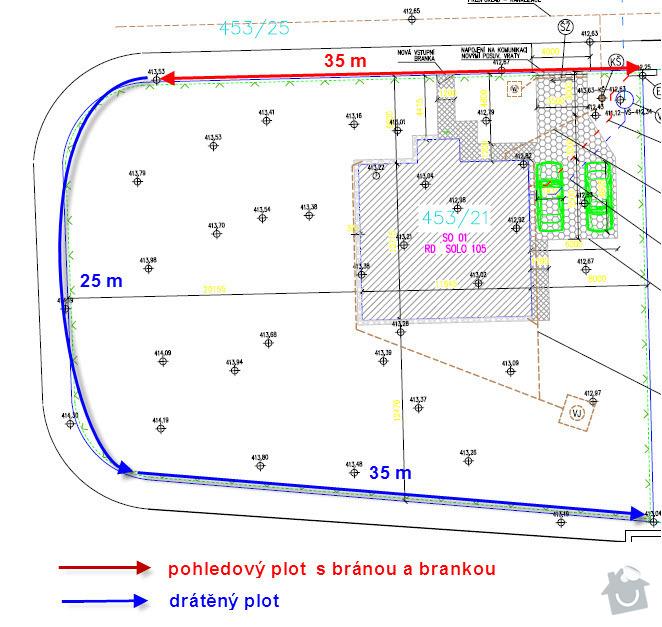Plot k RD: pozemek_a_plot