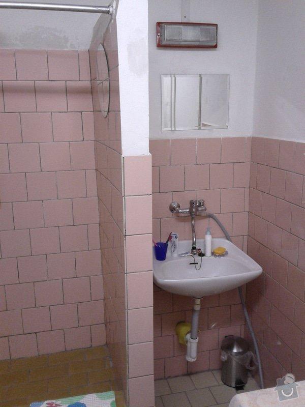 Rekonstrukce koupelny: 20140109_163734