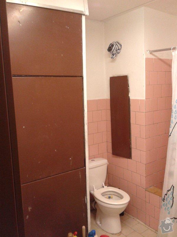 Rekonstrukce koupelny: 20140109_163703