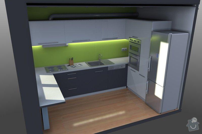 Kompletní rekonstrukce bytu v panelovém domě: 01