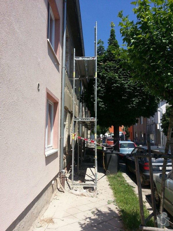 Zateplení bytového domu a rekonstrukce společných prostor.: 01