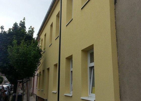 Zateplení bytového domu a rekonstrukce společných prostor.