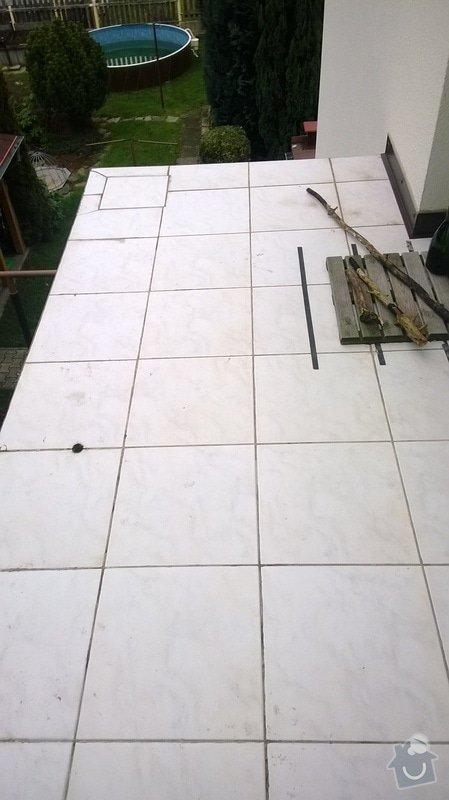Balkon - zábradlí a zastřešení: WP_20140111_006