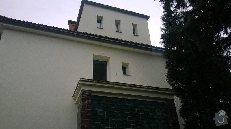 Balkon - zábradlí a zastřešení: WP_20140111_008