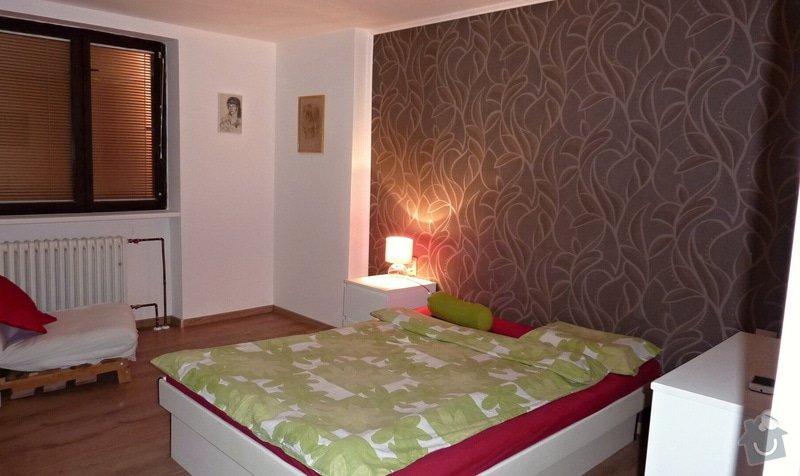 Rekonstrukce rodinného domu - ložnice: P1030269