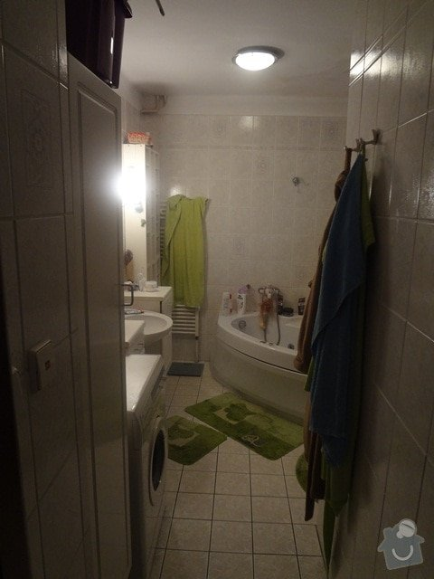 Rekonstrukce koupelny: DSC01195