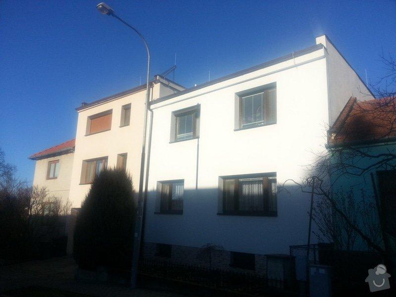 Zateplení rodinného domu a rekonstrukce části interiéru: 20140110_104157