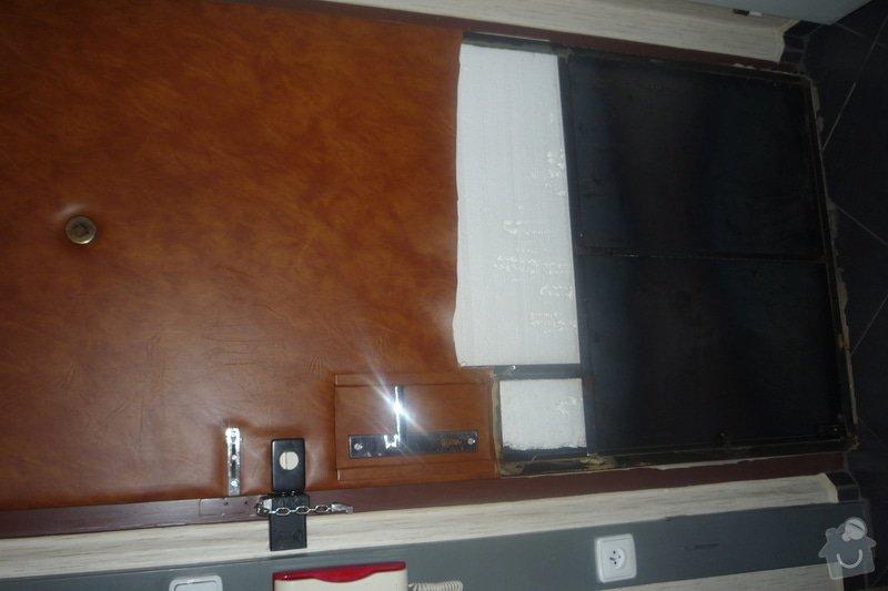 Koženka na vchodove dvere/zatepleni: P1060046