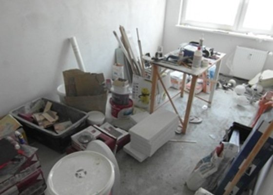 Vyklizení bytu po rekonstrukci