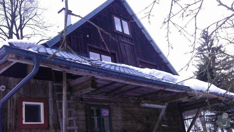 Položení nové střešní krytiny - plech, cca 260 m2: IMAG0965