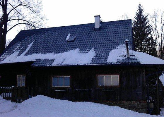Položení nové střešní krytiny - plech, cca 260 m2
