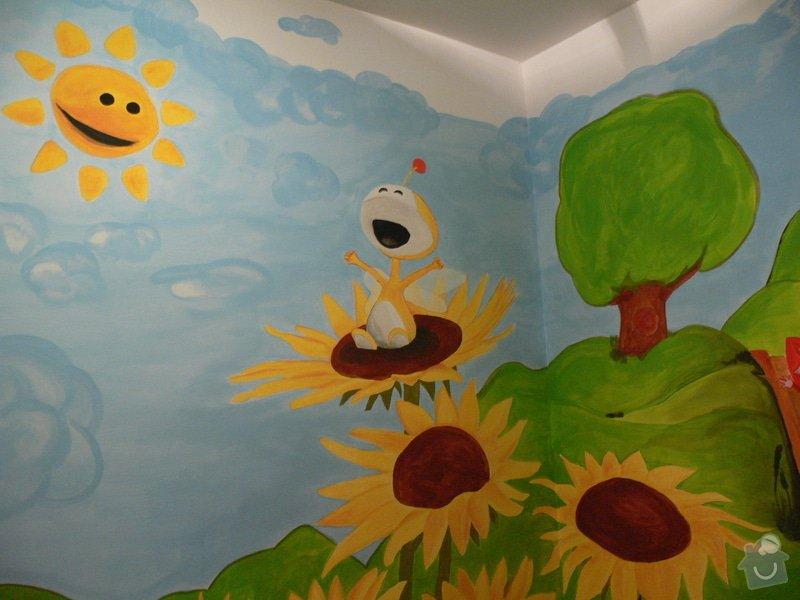 Dekorace dětského pokoje - šikminy: P1230120