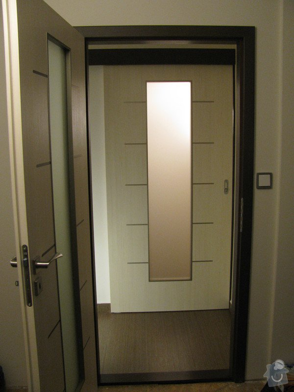 Dodávka a montáž vnitřních dveří vč.obložkových zárubní-RD Slabce: IMG_4338