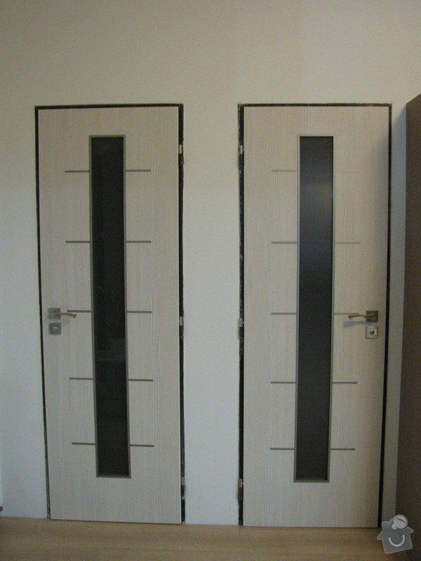 Dodávka a montáž vnitřních dveří vč.obložkových zárubní-RD Slabce: IMG_4342