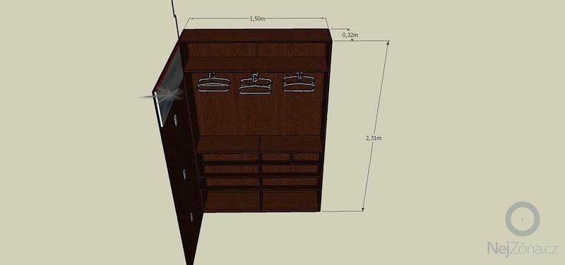 Výroba botníkové šatní skříně: _Predsin-miry