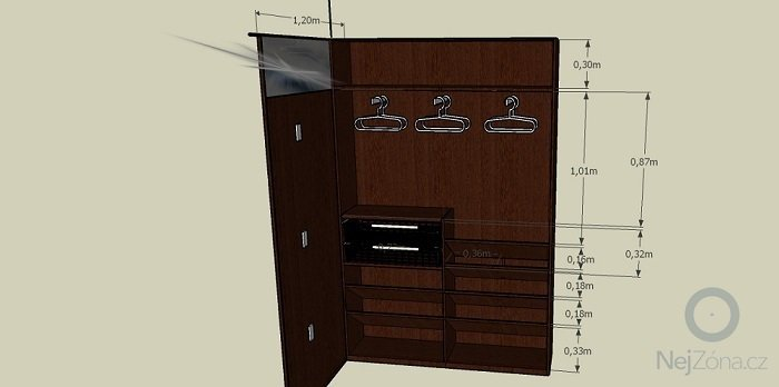 Výroba botníkové šatní skříně: _Predsin-n