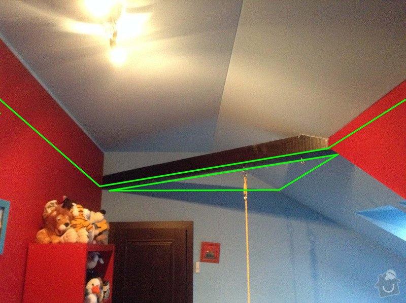 Sádrokarton - snížení stropu: image_2_