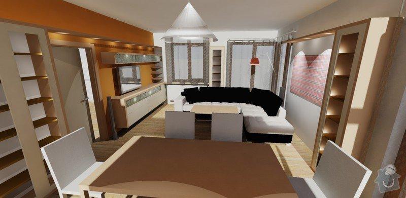 Návrh interieru obývacího a dětského pokoje: obyvaci_pokoj