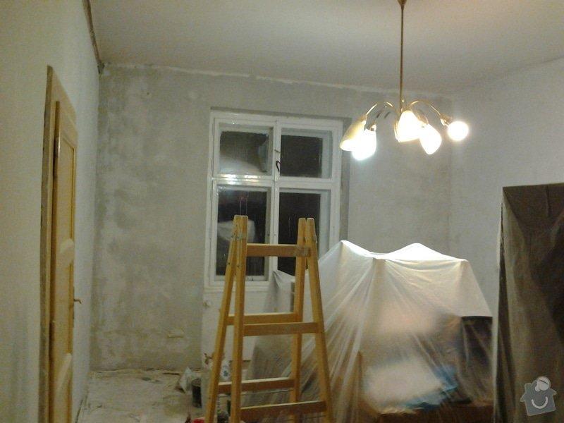 Renovace omítky 1 pokoj- jen zdi cca 50m2: Fotografie0287