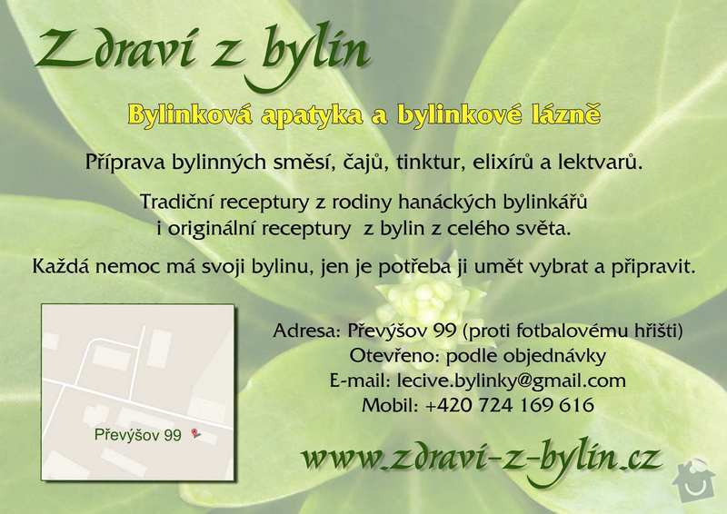 Tisk letáku A5: zdravi_z_bylin_1_kopie