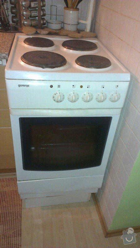 Oprava pračky a elektrické trouby: Sporak