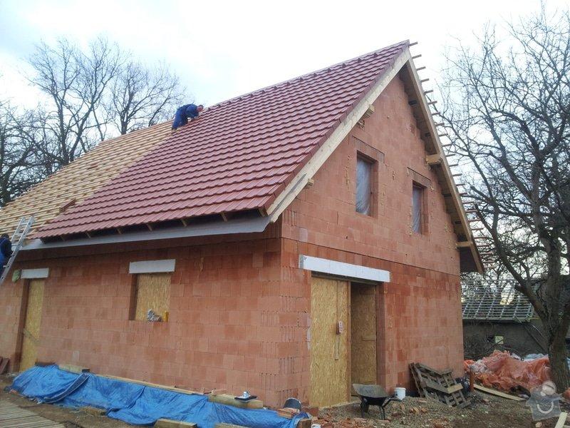 Stavba RD: 20131223_151425