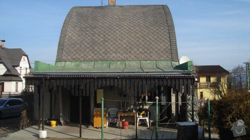 Nátěr eternitové střechy RD: 12.2.2011_004
