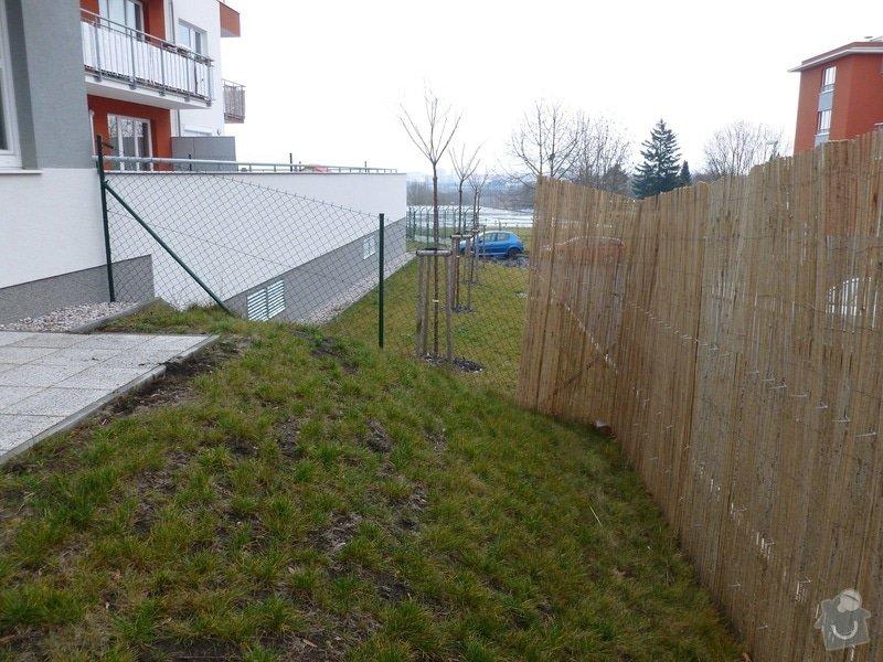 Zpevnění svahu + plot: nerovnost_pozemku_1
