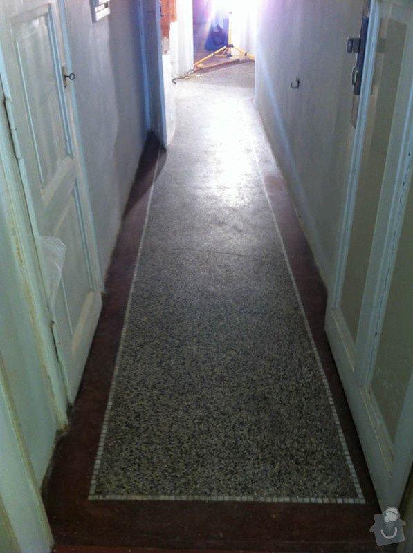 Renovace teraco podlahy v chodbě: image-3