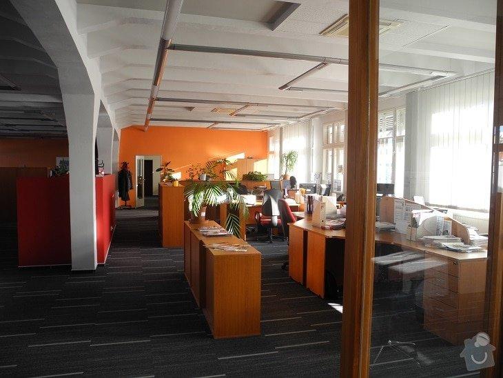 Úpravy kanceláří Real City: realizace