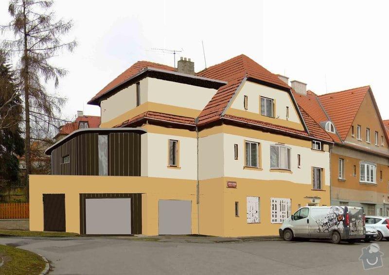 Rekonstrukce a přestavba rodinného domu: navrh