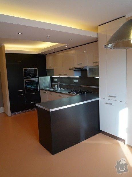 Rekonstrukce a interier bytu: kuchyn