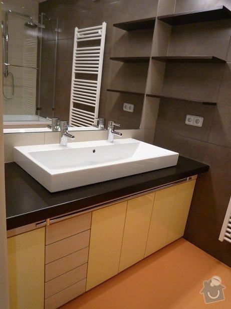 Rekonstrukce a interier bytu: koupelna